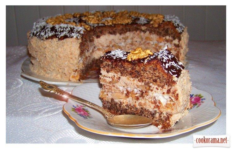Рецепт тортов без выпечки с фото без муки