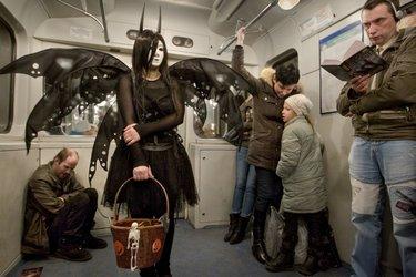 прикольные фото в метро