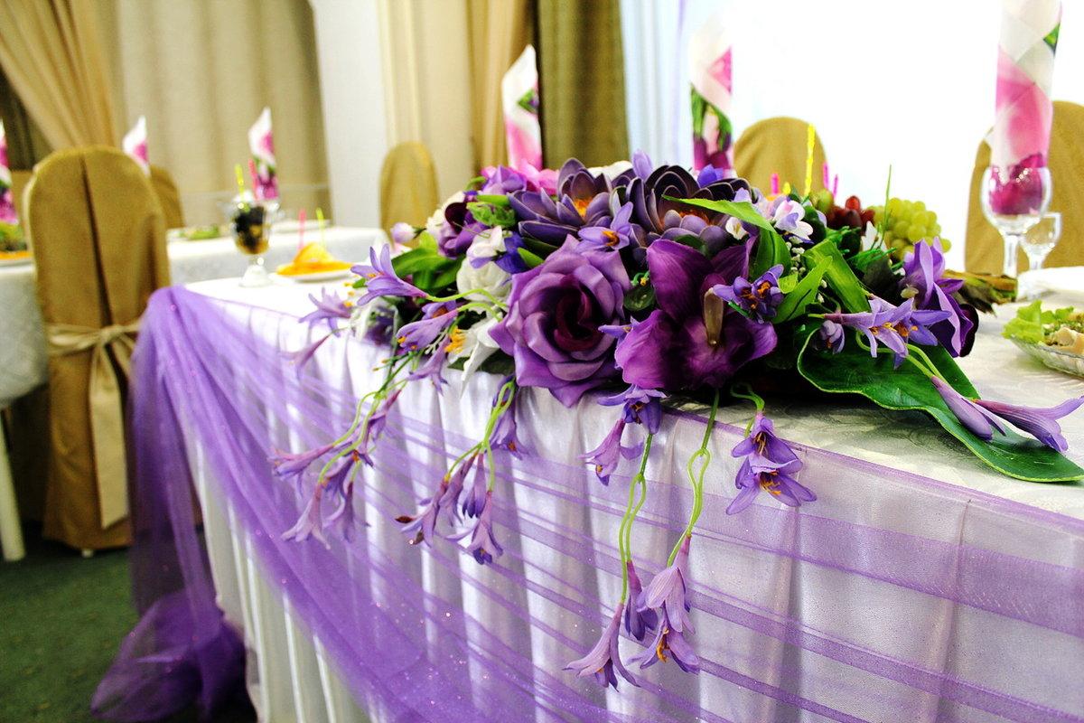 Свадебные столы оформление фото с цветами