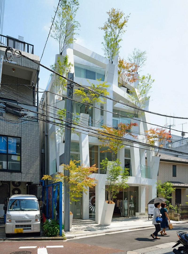 Здание Омотесандо Бранчес, Токио