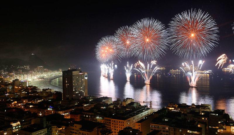 Рио-де-Жанейро, Бразилия. Новый год 2014
