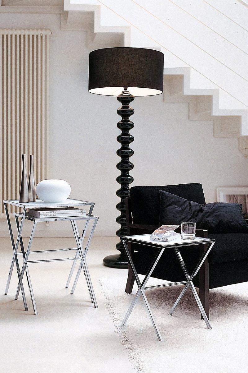 Необычные торшеры придают элегантность освещению, домашнего кабинета