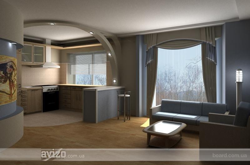 дайв-центре кухня совмещена с залом дизайн лечение