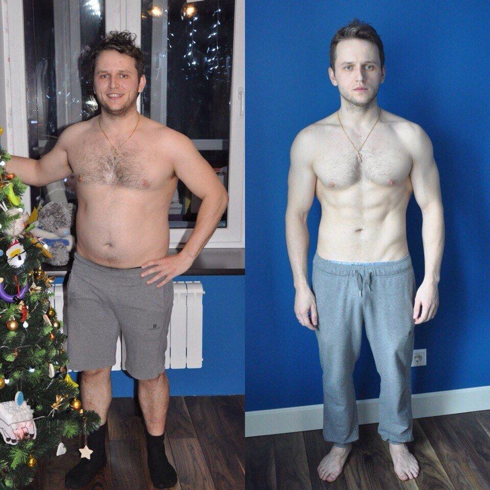 Сбросить вес дома мужчине