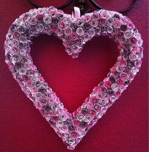 Самые красивые валентинки из бумаги своими руками на день Святого Валентина