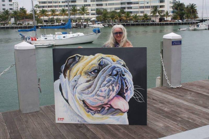 Работы художника Drago Milic | Собака и Кошка - все о домашних животных