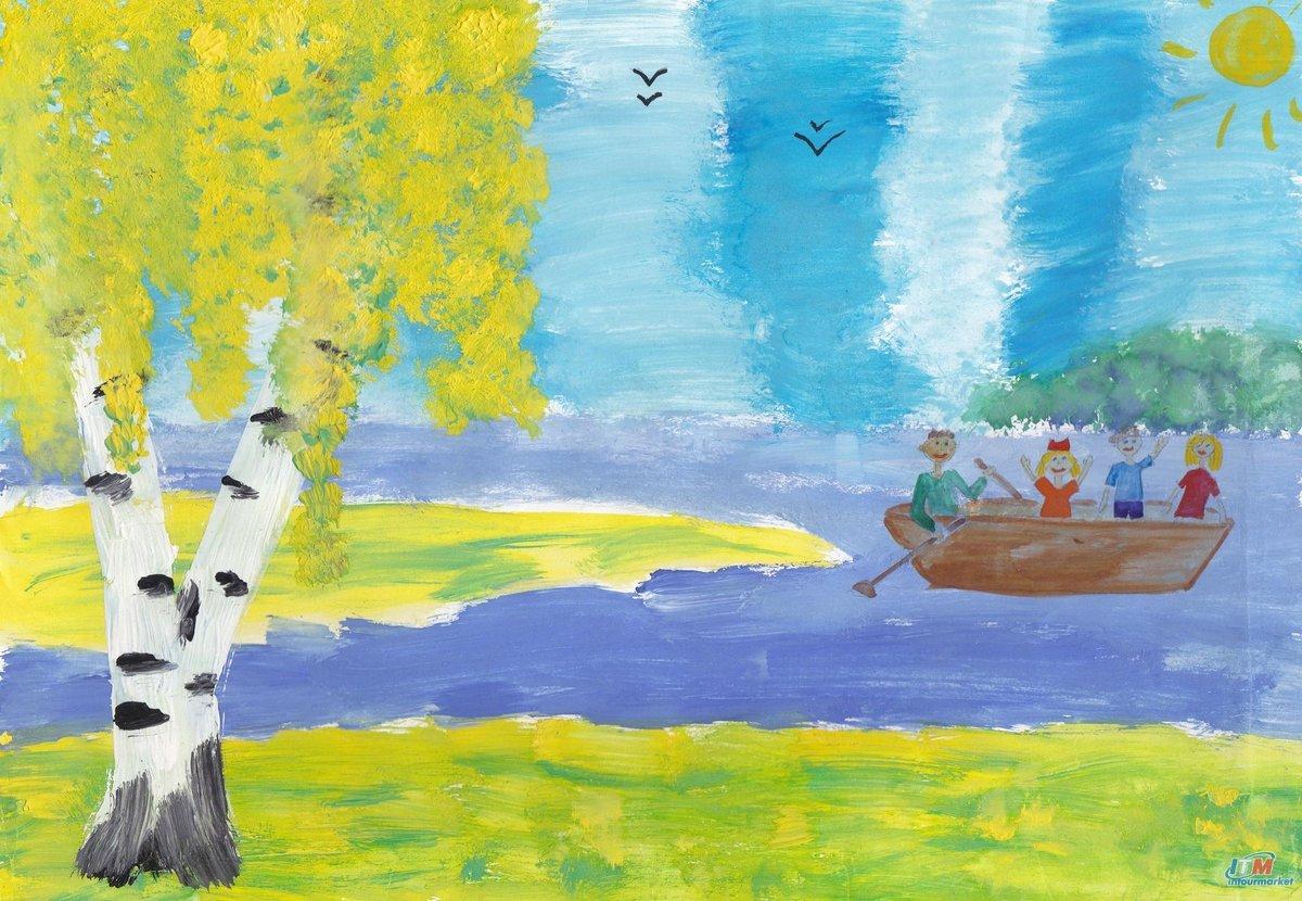 Картинка родина детские рисунки