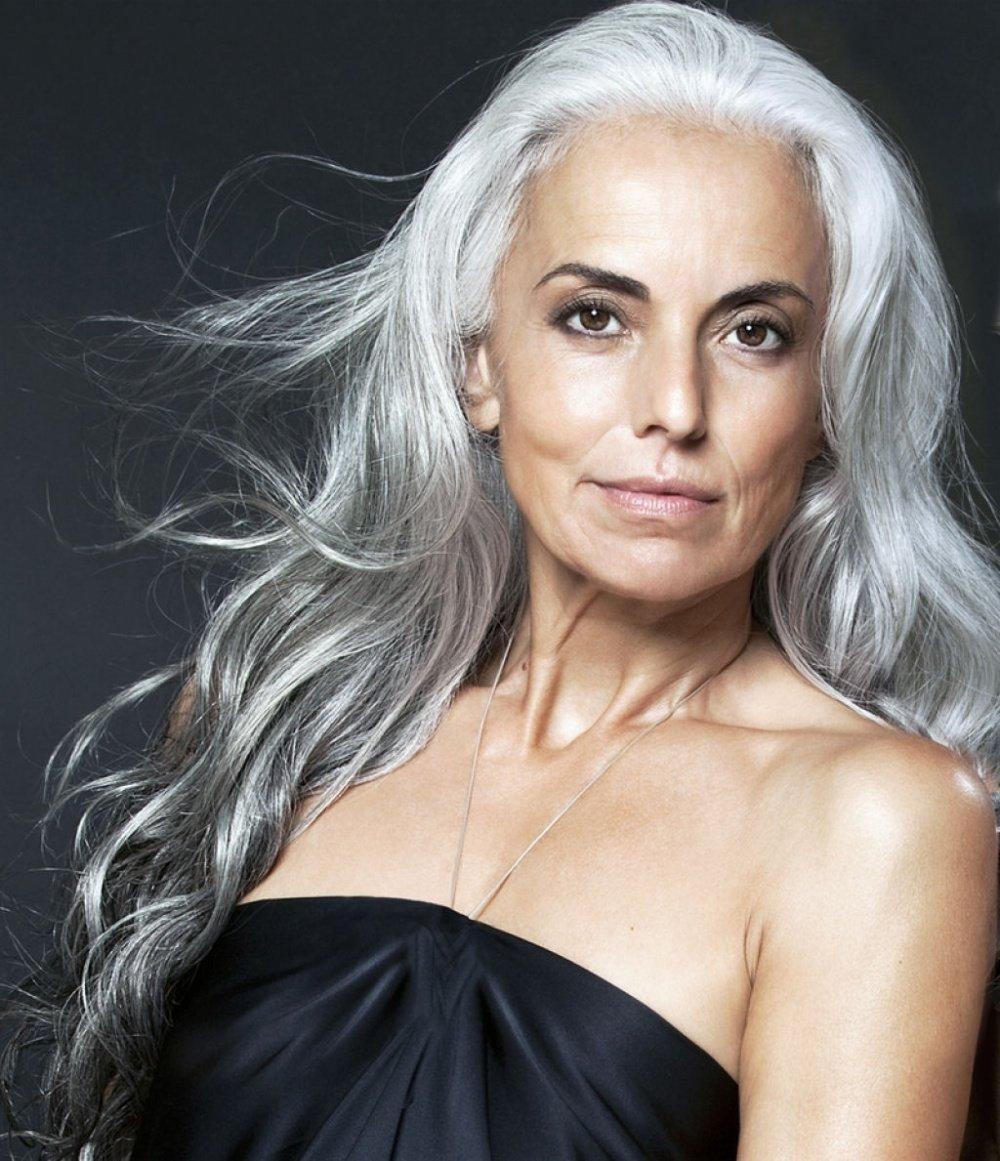 Пожилые женщины с длинными волосами фото — photo 1