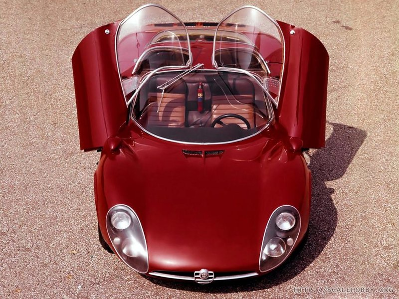 Alfa Romeo Tipo 33 Stradale Prototipo