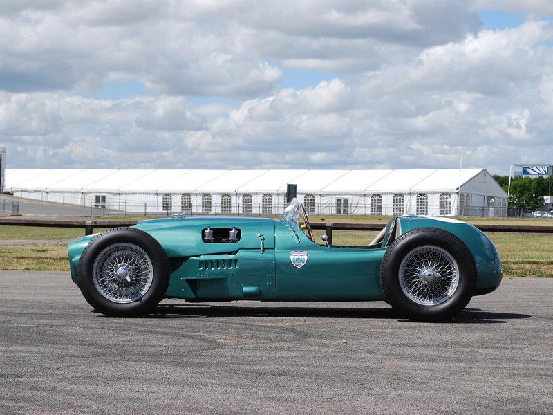 Aston Martin DB3S Special (кольцевые, 1953 - 1957) - История автомобилестроения