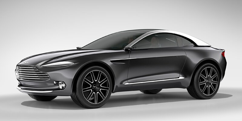 Aston Martin DBX Concept: купе-кроссовер с электрическим приводом