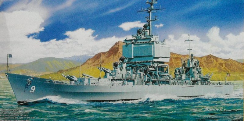 Атомный крейсер Long Beach