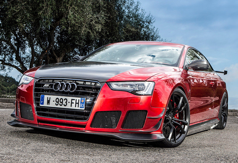 Quot Audi Rs5 R Coupe Abt Sportsline Quot Card From User