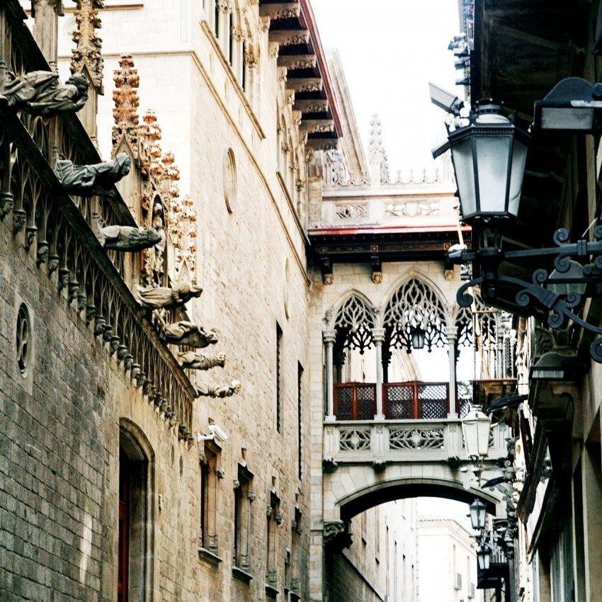 Барселона. Архитектура Готического квартала