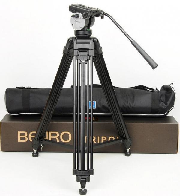 Benro KH-25 с видеоголовкой