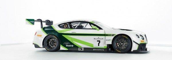 Bentley Team представили ливрею автомобиля для нового сезона