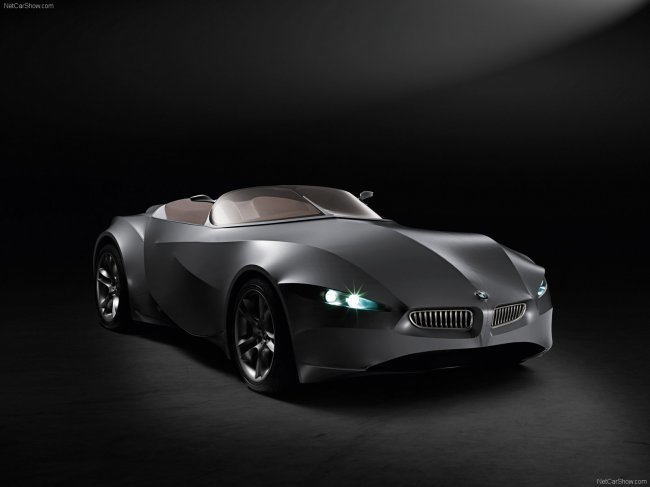 BMW GINA Light Visionary Model Concept 2008 (фотографии + видео)