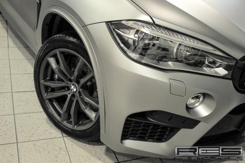 BMW X5M F15 Прозрачный мат | Re-Styling.ru