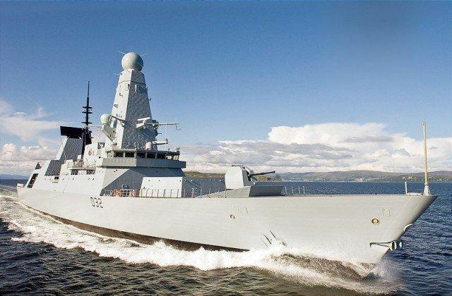Боевой корабль Type 45 Daring