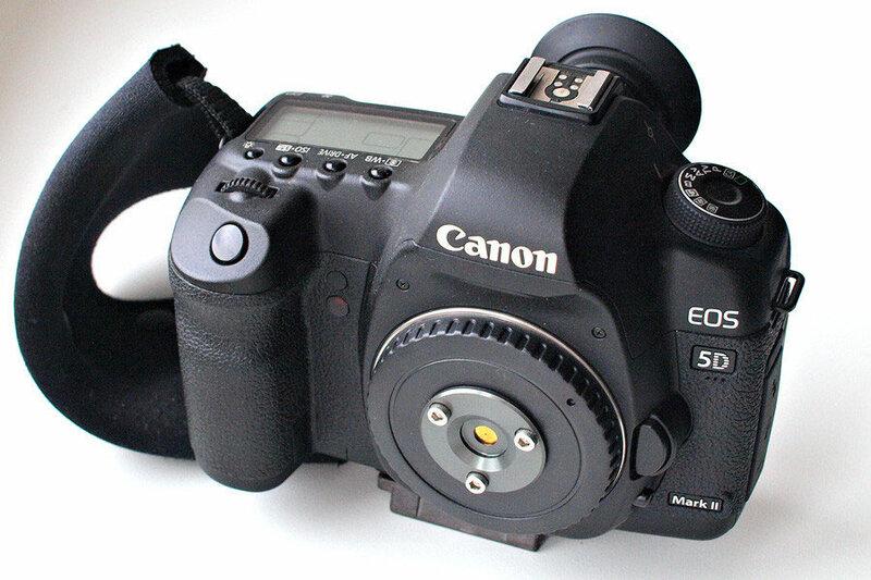 Canon EOS 5D с пинхолом