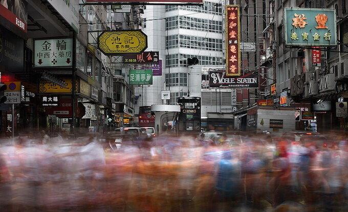Человеческий трафик в Гонконге