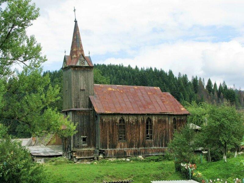Деревянный костёл Святого Франциска Борджиа, Деревянный костёл Святого Франциска Борджиа