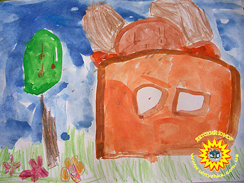 Детское творчество. Детские рисунки.