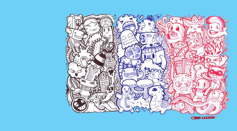 Doodle style как новое направление в искусстве   Видео в стиле doodle