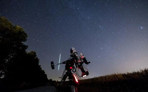 Фото через телескоп