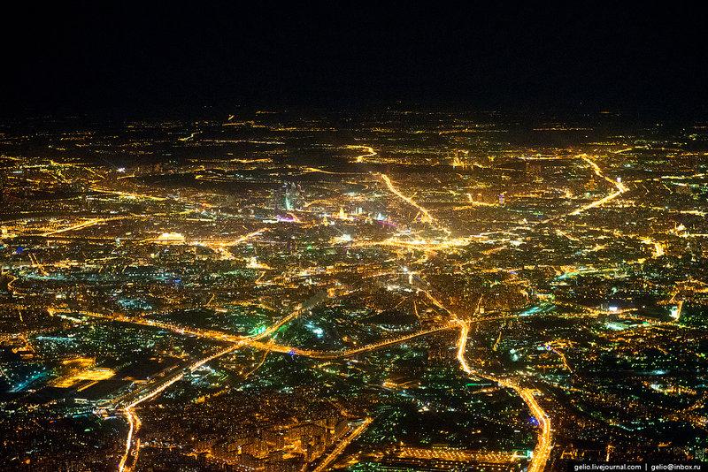 Фотографии из окна самолёта — 2015 - Gelio    (Степанов Слава)