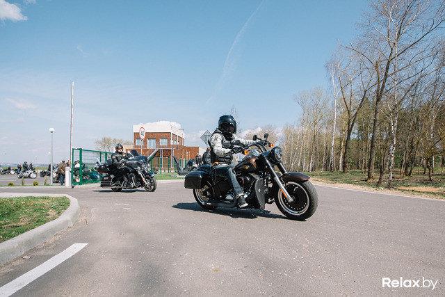 Фотоотчет Открытие мото-сезона Harley-Davidson 2015 в Бульбашъ пляж в Минске 25.04.2015