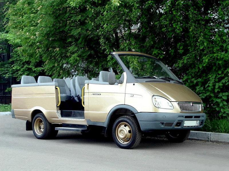 ГАЗ 2705 «Газель Кабриолет» (2005) — Мегаэнциклопедия Кирилла и Мефодия — медиаобъект