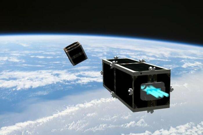 Ящик для сборам космического мусора