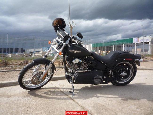 Кастом Harley-Davidson из солнечной Испании » RNNS.RU