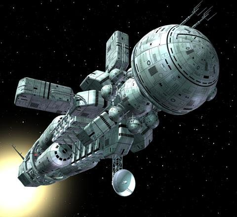 Космические корабли будущего, представление художника