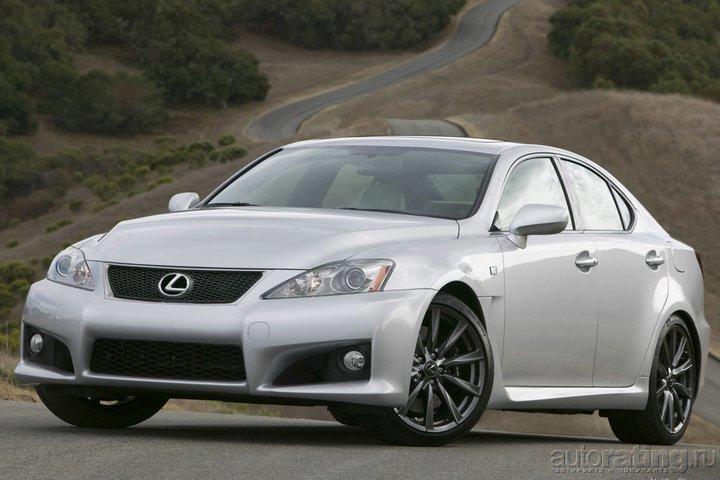 Lexus IS-F 2007 - цена, характеристики и фото, описание модели авто