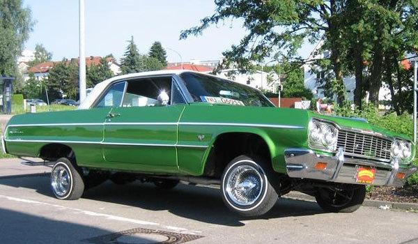 Lowrider на базе Chevrolet Impala