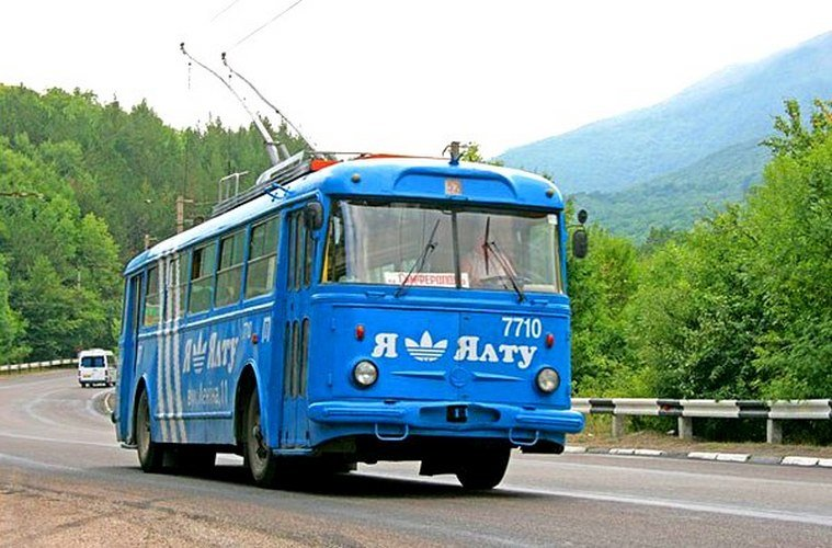 маршруты, пейзажи, поездки, старые троллейбусы, Трансфер по Крыму