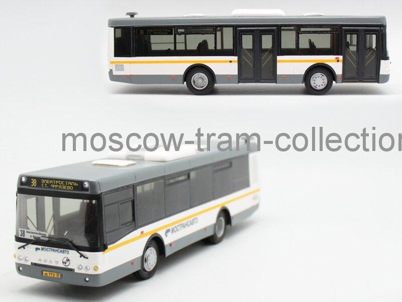 Масштабные модели отечественных автобусов
