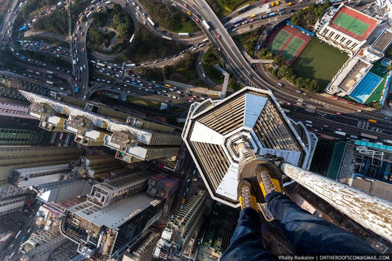 Мировые мегаполисы глазами российских руферов — Популярная механика