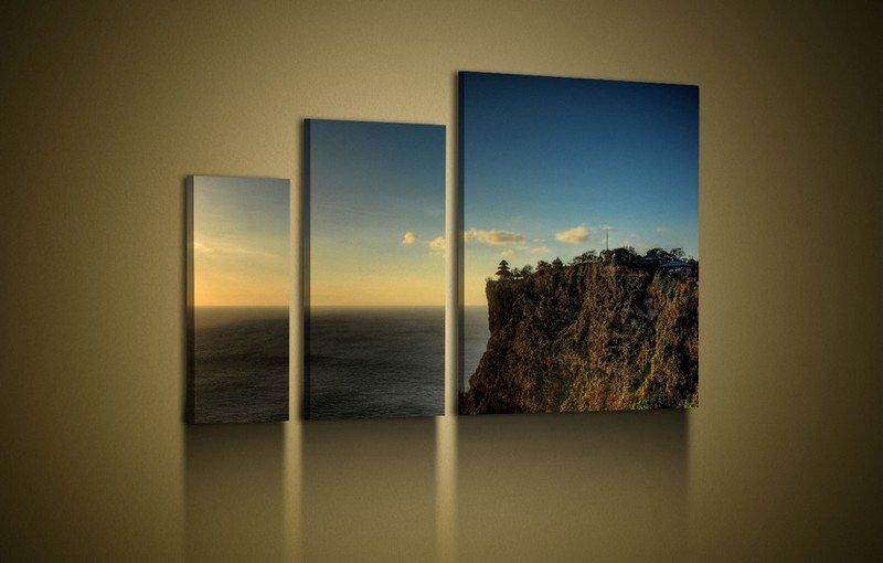 Модульные картины в интерьере квартир и отдельных комнат + фото