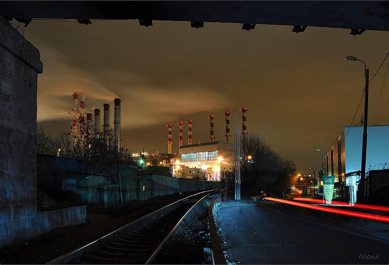 Москва индустриальная. Автор: maior55