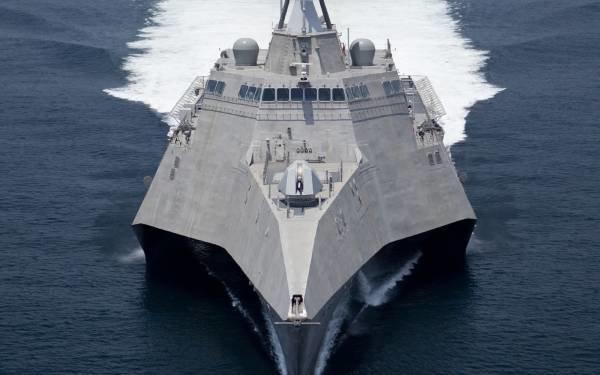 Новейший американский корабль