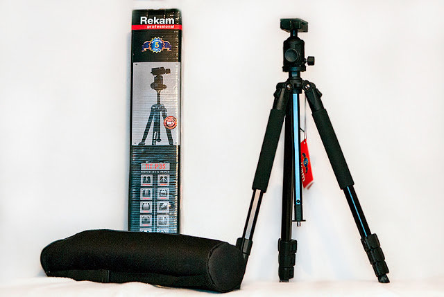 Обзор штатива     Rekam RT-P35