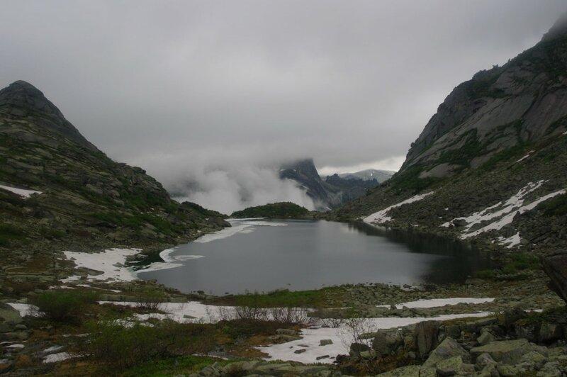 Поход на Ергаки. Озера Светлое,Мраморное, Горных духов | Блог программиста