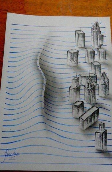 Рисунки художника J Desenho