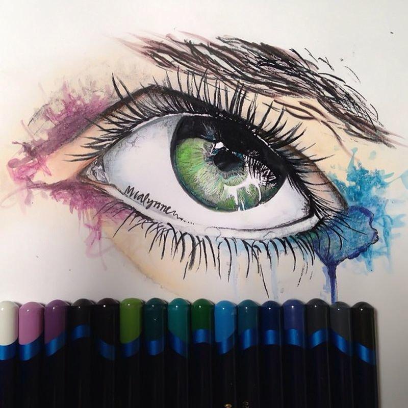 Рисунки маркером. Примеры работ