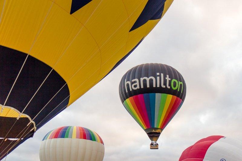 Шоу воздушных шаров в Гамильтоне (много фото) - Блог Стаса Кулеша