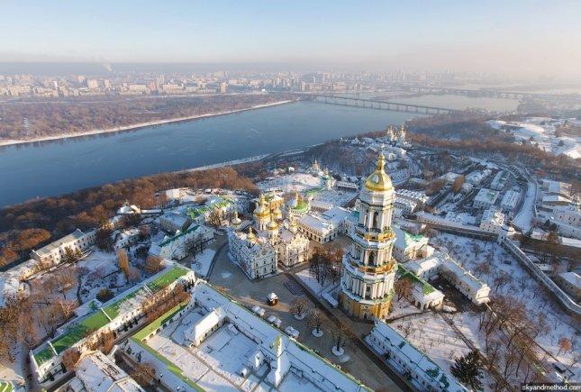 Старый Киев   |  Киев с высоты птичьего полета