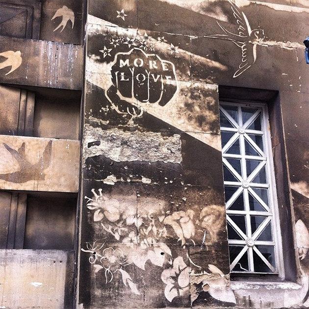 Уличные художники создают шедевры из городской пыли и грязи: Фото: Вещи: Из жизни: Lenta.ru
